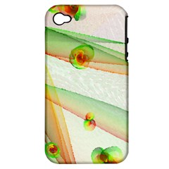 The Wedding Veil Series Apple Iphone 4/4s Hardshell Case (pc+silicone) by SugaPlumsEmporium