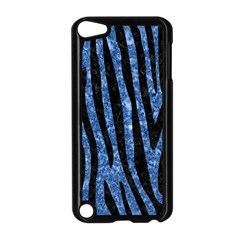 Skin4 Black Marble & Blue Marble Apple Ipod Touch 5 Case (black) by trendistuff