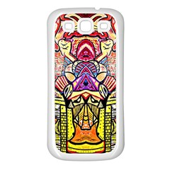 Reflection Samsung Galaxy S3 Back Case (white) by MRTACPANS