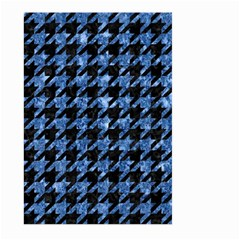 HTH1 BK-BL MARBLE Large Garden Flag (Two Sides) by trendistuff