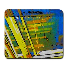 Pretty in Yellow Large Mousepad by SugaPlumsEmporium