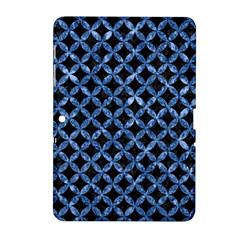 Circles3 Black Marble & Blue Marble Samsung Galaxy Tab 2 (10 1 ) P5100 Hardshell Case  by trendistuff
