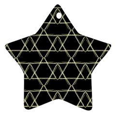 Star Of David   Star Ornament (two Sides)  by SugaPlumsEmporium