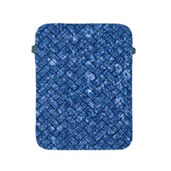 Brick2 Black Marble & Blue Marble (r) Apple Ipad 2/3/4 Protective Soft Case by trendistuff