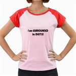 I am Surrounded by Idiots! Women s Cap Sleeve T-Shirt