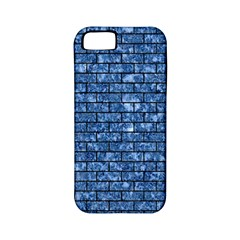 Brick1 Black Marble & Blue Marble (r) Apple Iphone 5 Classic Hardshell Case (pc+silicone) by trendistuff