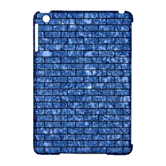 Brick1 Black Marble & Blue Marble (r) Apple Ipad Mini Hardshell Case (compatible With Smart Cover) by trendistuff