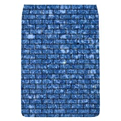 Brick1 Black Marble & Blue Marble (r) Removable Flap Cover (s) by trendistuff
