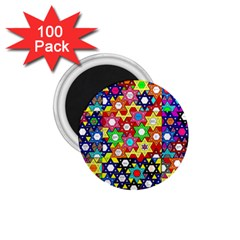 Star Of David 1 75  Magnets (100 Pack)  by SugaPlumsEmporium