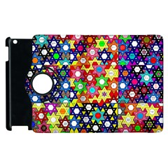 Star Of David Apple Ipad 3/4 Flip 360 Case by SugaPlumsEmporium