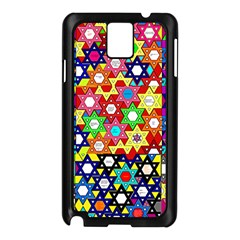 Star Of David Samsung Galaxy Note 3 N9005 Case (black) by SugaPlumsEmporium