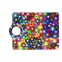 Star Of David Kindle Fire Hd (2013) Flip 360 Case by SugaPlumsEmporium