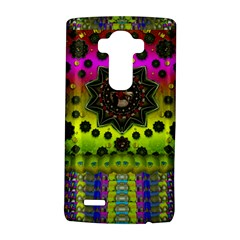 Stars A Dove A  Woodo Stratocaster In Peace And Leather Lg G4 Hardshell Case by pepitasart