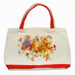 Hawaiian Flair Classic Tote Bag (red) by SugaPlumsEmporium