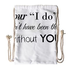 Wedding Favor/thank You Drawstring Bag (large) by LittileThingsInLife