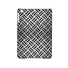 Woven2 Black Marble & Silver Brushed Metal (r) Apple Ipad Mini 2 Hardshell Case by trendistuff