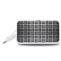 WOV1 BK MARBLE SILVER (R) Portable Speaker (White)  by trendistuff