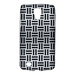 Woven1 Black Marble & Silver Brushed Metal (r) Samsung Galaxy S4 Active (i9295) Hardshell Case by trendistuff