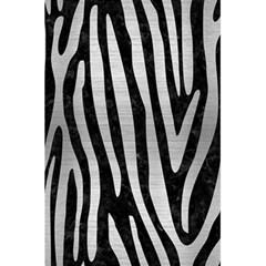 Skin4 Black Marble & Silver Brushed Metal (r) 5 5  X 8 5  Notebook by trendistuff