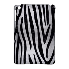 Skin4 Black Marble & Silver Brushed Metal Apple Ipad Mini Hardshell Case (compatible With Smart Cover) by trendistuff