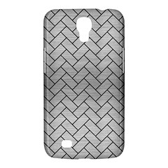 Brick2 Black Marble & Silver Brushed Metal (r) Samsung Galaxy Mega 6 3  I9200 Hardshell Case by trendistuff