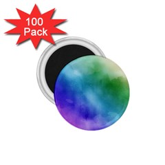 Rainbow Watercolor 1 75  Magnets (100 Pack)  by StuffOrSomething