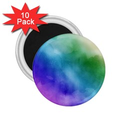 Rainbow Watercolor 2 25  Magnets (10 Pack)  by StuffOrSomething