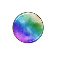 Rainbow Watercolor Hat Clip Ball Marker (4 Pack) by StuffOrSomething