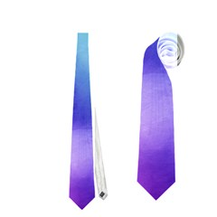 Rainbow Watercolor Neckties (one Side)  by StuffOrSomething