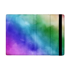 Rainbow Watercolor Apple Ipad Mini Flip Case by StuffOrSomething