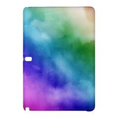 Rainbow Watercolor Samsung Galaxy Tab Pro 10 1 Hardshell Case by StuffOrSomething