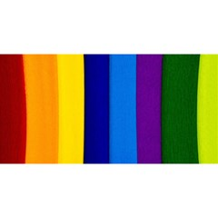 Rainbow Painting On Wood You Are Invited 3d Greeting Card (8x4)  by StuffOrSomething