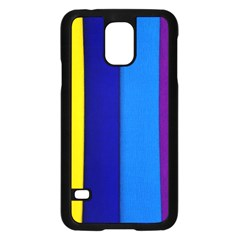 Rainbow Painting On Wood Samsung Galaxy S5 Case (black) by StuffOrSomething