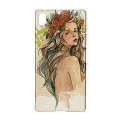 Beauty Of A woman In Watercolor Style Sony Xperia Z3+ by TastefulDesigns
