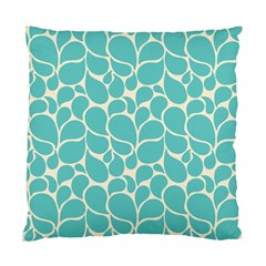 Blue Abstract Water Drops Pattern Standard Cushion Case (two Sides) by TastefulDesigns