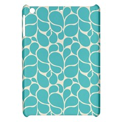 Blue Abstract Water Drops Pattern Apple Ipad Mini Hardshell Case by TastefulDesigns