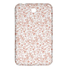 Hand Drawn Seamless Floral Ornamental Background Samsung Galaxy Tab 3 (7 ) P3200 Hardshell Case