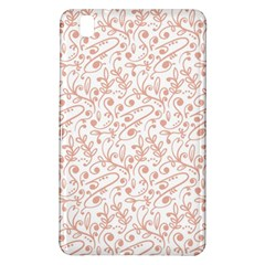 Hand Drawn Seamless Floral Ornamental Background Samsung Galaxy Tab Pro 8 4 Hardshell Case by TastefulDesigns