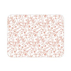 Hand Drawn Seamless Floral Ornamental Background Double Sided Flano Blanket (mini)  by TastefulDesigns