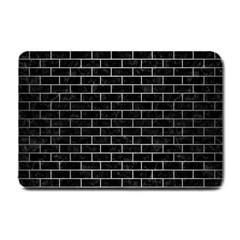 BRK1 BK MARBLE SILVER Small Doormat  by trendistuff