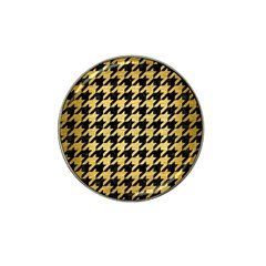 HTH1 BK MARBLE GOLD Hat Clip Ball Marker (10 pack) by trendistuff