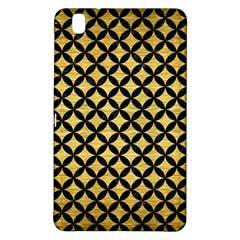 Circles3 Black Marble & Gold Brushed Metal (r) Samsung Galaxy Tab Pro 8 4 Hardshell Case by trendistuff
