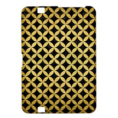 Circles3 Black Marble & Gold Brushed Metal Kindle Fire Hd 8 9  Hardshell Case by trendistuff