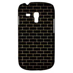 Brick1 Black Marble & Gold Brushed Metal Samsung Galaxy S3 Mini I8190 Hardshell Case by trendistuff