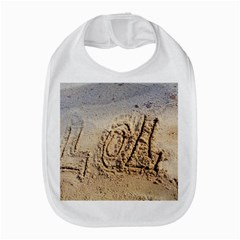 Lol, Lots Of Love On The Beach Bib by yoursparklingshop