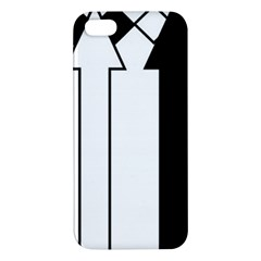 Funny Black And White Stripes Diamonds Arrows Apple Iphone 5 Premium Hardshell Case