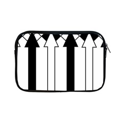 Funny Black And White Stripes Diamonds Arrows Apple Ipad Mini Zipper Cases by yoursparklingshop