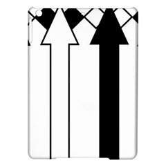 Funny Black And White Stripes Diamonds Arrows Ipad Air Hardshell Cases by yoursparklingshop