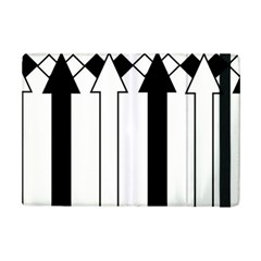 Funny Black And White Stripes Diamonds Arrows Ipad Mini 2 Flip Cases by yoursparklingshop