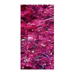 Festive Hot Pink Glitter Merry Christmas Tree  Shower Curtain 36  X 72  (stall)  by yoursparklingshop